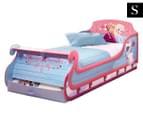 Worlds Apart 210x96x79.5cm Frozen Sleigh Single Bed - Pink 1
