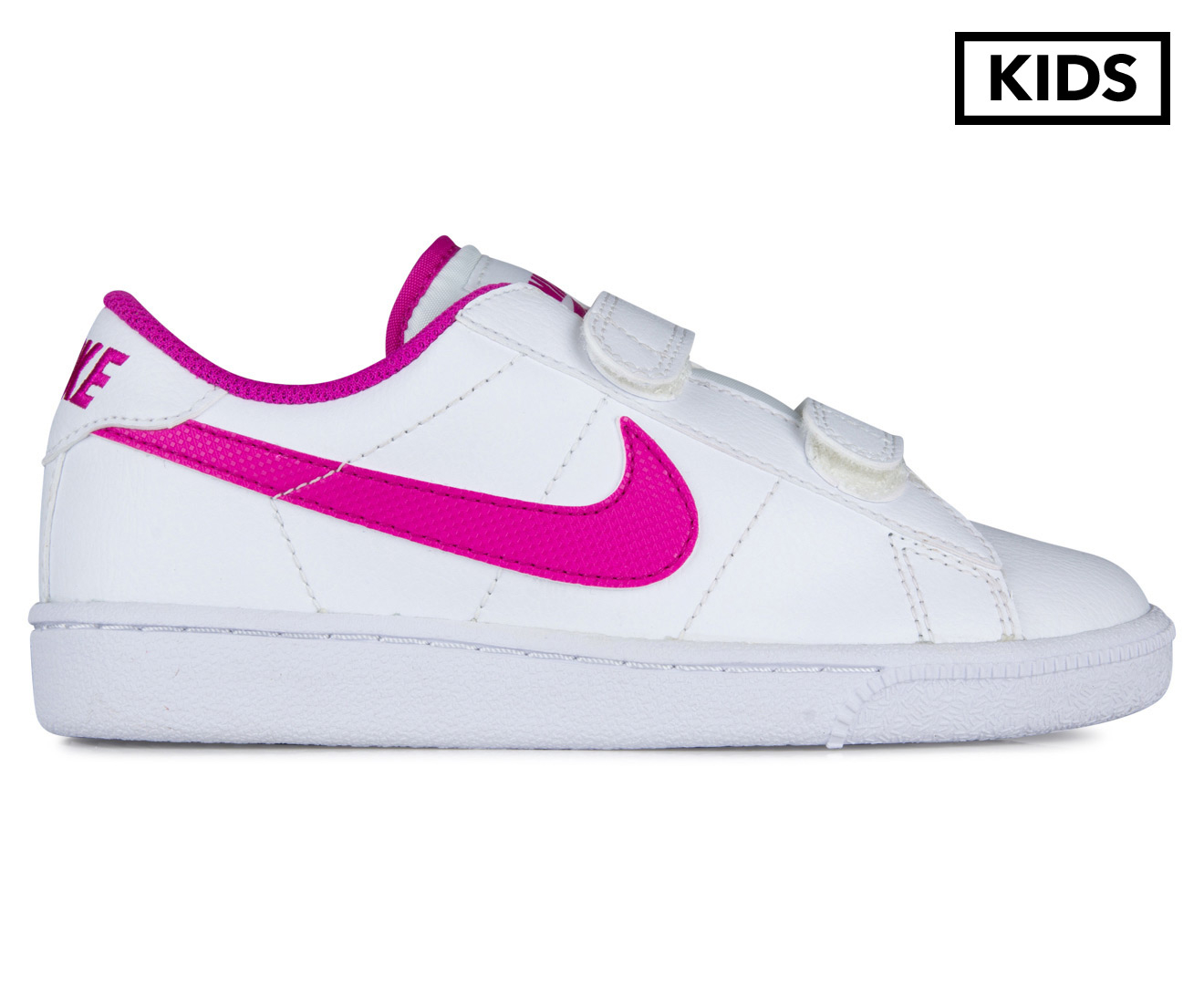 429868148ff3 Nike Pre-School Kids  Tennis Classic (PSV) Shoe - White Fuchsia Flash
