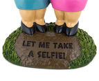 Selfie Sisters Garden Gnome 4