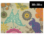 Brink & Campman 300x200cm Butterfly Hand Tufted Rug - Multi 1