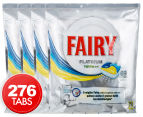 4 x Fairy Platinum All In 1 Dishwashing Lemon 69 Tabs 1