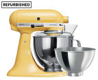 KitchenAid KSM160 Artisan Stand Mixer REFURB - Majestic Yellow 1