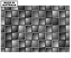 Autumn Tile 90x59cm Canvas Wall Art - Warm Black & White 1