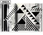 Triangle Bind 90x59cm Canvas Wall Art 1