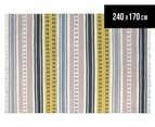 Scion 240x170cm Rivi Hand Tufted Rug - Taupe 1