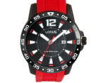 LORUS Men's Sports Watch 45mm - Red/Black 5