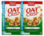 2 x Uncle Tobys Oat Crisp Cereal Almond 415g 1