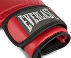 Everlast Authentic Training Gloves Large - Red 4