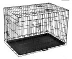 """Metal Collapsible 36""""/91cm Dog Cage  1"""
