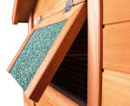 Rabbit Hutch Chicken Coop Cage/Guinea Pig House 6