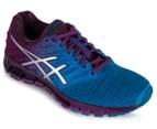 ASICS Women's GEL-Quantum 180 2 Shoe - Blue Jewel/Silver/Phlox 2