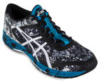 ASICS Men's GEL-Noosa Tri 11 Shoe - Mid Grey/White/Blue Jewel 2