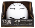 Zone Flex Helmet Medium - Gloss White 6