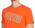 Puma Men's Thread Tee - Orange 6