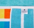 Bambury 75x150cm Jacquard Velour Beach Towel - Stripe 4