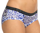 Bonds Women's Boyleg/Hipster Brief - Blue/Black 2