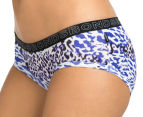 Bonds Women's Boyleg/Hipster Brief - Blue/Black 3