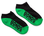 Bonds Kids' Cushioned Sole Low Cut Socks 3-Pack - Multi 3