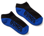 Bonds Kids' Cushioned Sole Low Cut Socks 3-Pack - Multi 4
