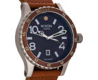 Nixon Men's 45mm Diplomat Watch - Dark Copper/Saddle 2