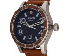 Nixon Men's 45mm Diplomat Watch - Dark Copper/Saddle 3
