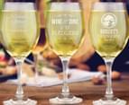 8 x Personalised Wine Glass 410mL 6