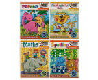 4-Pack of Kindergarten Beaver Books Educational Reading 1