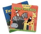 2-Pack Lift The Flap Books - Farm/Zoo 2