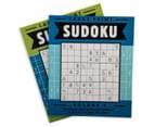 2-Pack Sudoku Books 2