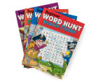 4-Pack Beginner Word Hunt Puzzle Books 2