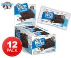 12 x Lenny & Larry's The Muscle Brownie Triple Choc 65g 1