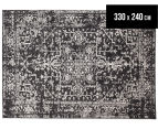 Tapestry Contemporary Easy Care Cairo 330x240cm Rug - Charcoal 1