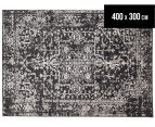 Tapestry Contemporary Easy Care Cairo 400x300cm Rug - Charcoal 1