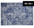 Tapestry Contemporary Easy Care Cairo 400x300cm Rug - Navy 1
