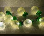 10-Lantern 1.13m LED String Lights - Pineapple 4