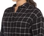 Element Women's Lenni Shirt Dress - Black  6