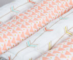 Little Cloud Arrow Muslin Wraps 4-Pack - Multi 3