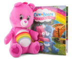 Scholastic Care Bears Cheer Bear Gift Set Book & Plush Toy 2