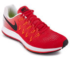 Nike Men's Air Zoom Pegasus 33 - Action Red/Black PR Platinum/TTL Crimson 2