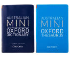 Australian Mini Oxford Dictionary and Thesaurus Set 1