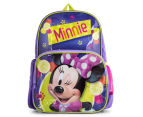 Minnie Mouse Backpack - Purple  1