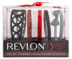 Revlon Plaid Headband 5-Piece Gift Set - Multi 1