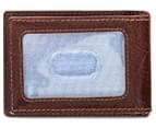 Tommy Hilfiger Men's York Front Pocket Wallet - Tan 2