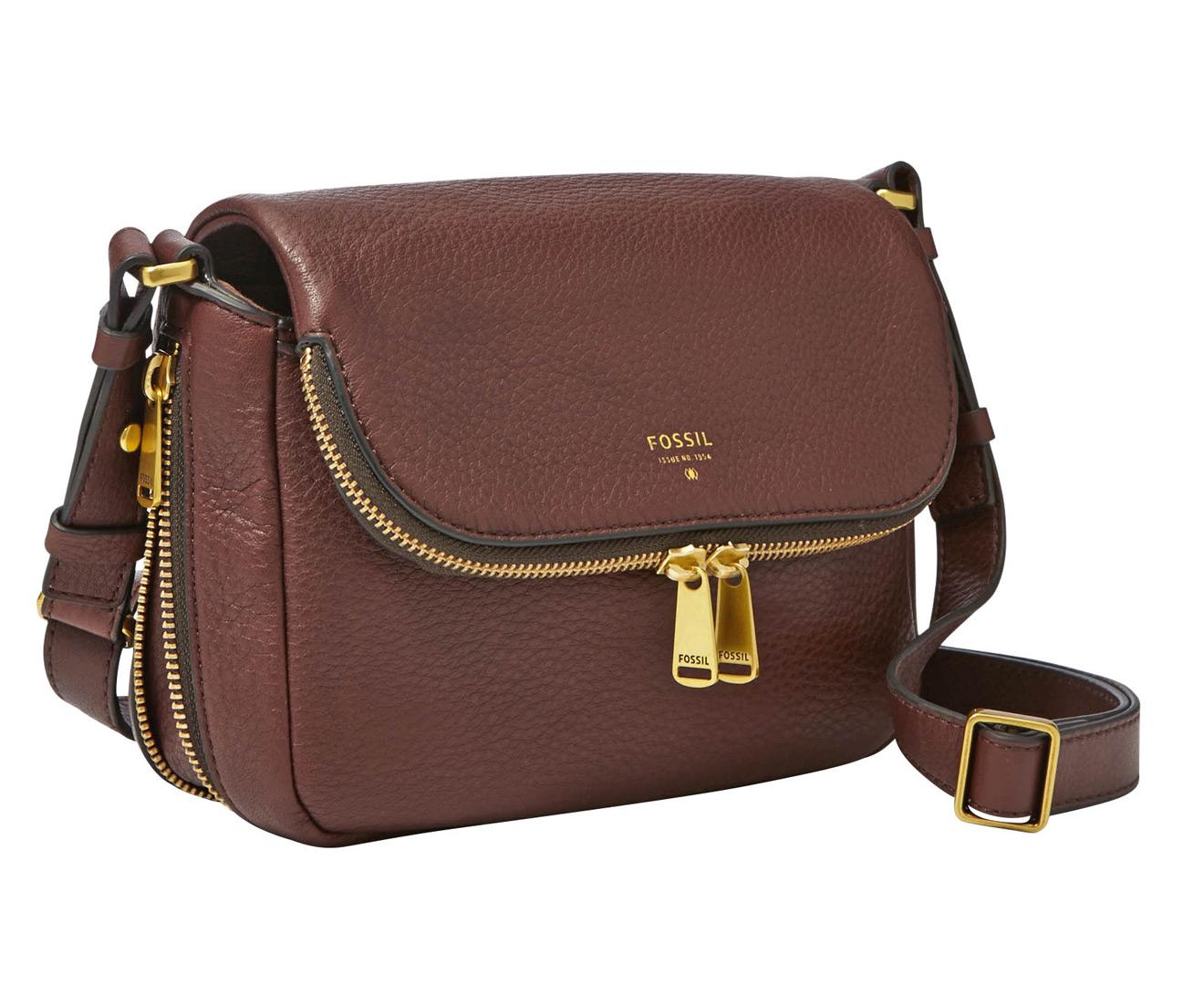 Fossil Piper Small Crossbody Brown Zb 6738200 Daftar Harga Terbaik Crimson 6738933 Flap Espresso S Bag