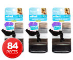 3 x Scunci 27 Pack No Damage Elastics - Multi  1