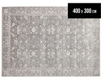 Tapestry Contemporary Easy Care Vienna 400x300cm Rug - Grey 1