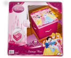 Disney Princess 44x44cm Large Toy Box - Pink 6