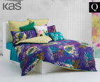 KAS Harper Queen Bed Quilt Cover Set - Multi  1