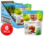 6 x Bellamy's Organic Apple Fruit Snacks 20g 1