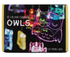 Delight Decor 12-LED Chain String Light - Owl 4